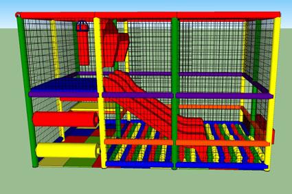 a24d60db93b2 Realizzazioni Giochi gonfiabili e Playground parco giochi per ...